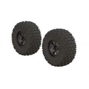 Fortress SC Tire Set Glued...