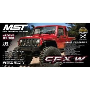 MST CFX-W JP1 RTR Red