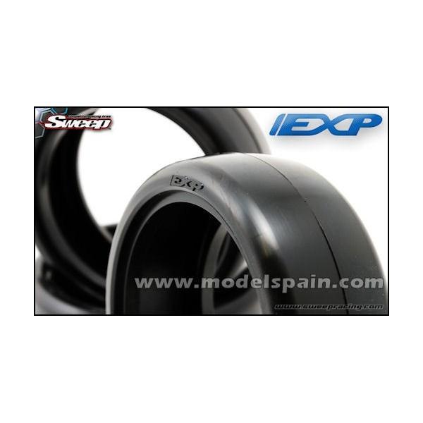 Sweep EXP Preglued Touring Car Rubber tires 24mm 36deg 4pcs