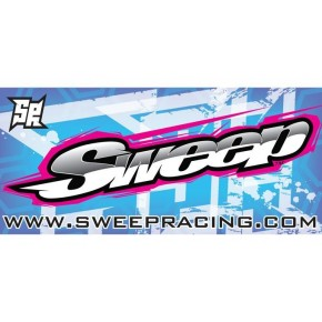 Sweep Racing Track Banner 2011 (2000x900mm), Polyester