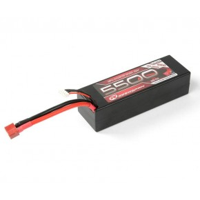 LiPo 11,1V, 5500mAh, 60C, 3S-1P, Racing Pack Deans-Connector
