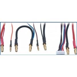 Cable carga LiPo 2Sx2 c/balanceador