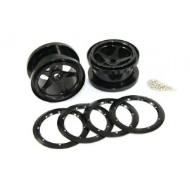 5 SPOKE 2.2 ALLOY BEADLOCK WHEELS (WRAITH)