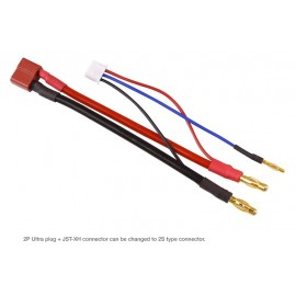 LiPo Cell Balancer 2S Multi Charging Cable JST-XH & 2P