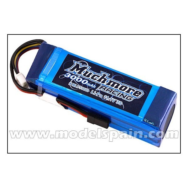 Much More LiPo Tx Battery 3000mAh 11.1V (KO, JR)
