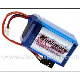 Much More Li-Fe Battery 1500mAh/6.6V 15C Hmp Size for Receiver