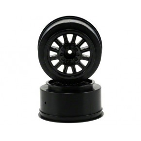 Rulux- Slash rear wheel - (black) - 2pc