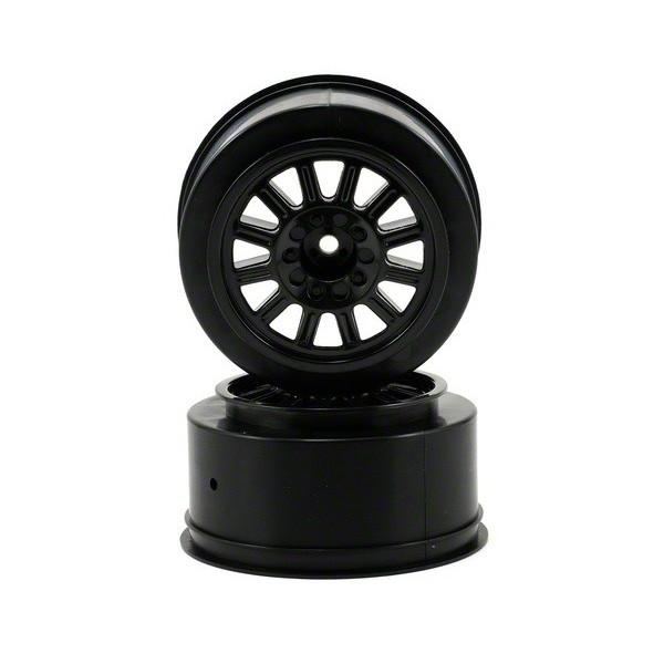 Rulux- Slash rear wheel - (black) - 2pc