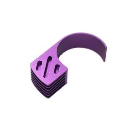 Alloy 6 Fin Motor Heatsink  purple
