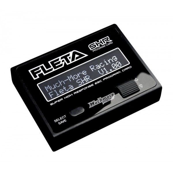 FLETA High Response LCD Program Card