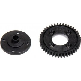 43T Spur Gear, Plastic: 8E 2.0