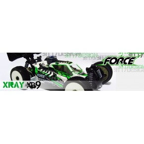 CARROCERIA XRAY XB9 FORCE...