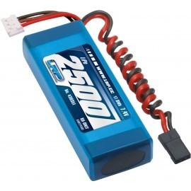Bateria 7,4V-2500mAh LiPo RX Recta