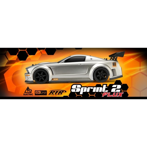 HPI Sprint 2 Flux Mustang GT 1/10 RTR Brushless