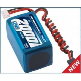 Bateria 6,6V-1700mAh LiFePo RX Recta