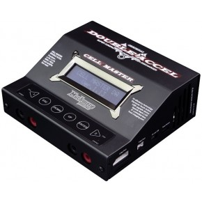 Cell Master Double Accl Black Charger