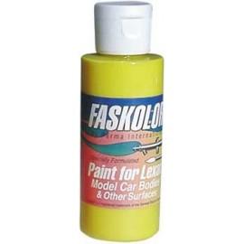 Pintura aerografo Faskolor amarillo 60ml