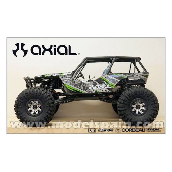 Axial Wraith - 1/10th Scale Electric 4WD Rock Racer RTR