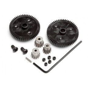 SPUR GEAR SET (2PCS) PINION...