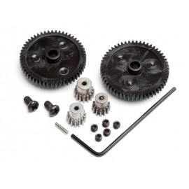 SPUR GEAR SET (2PCS) PINION GEAR SET (3PCS)