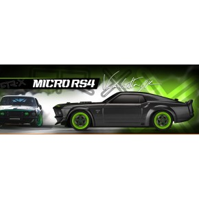 Micro RS4 Fiesta Ken Block 2013 GRC 1/18 RTR