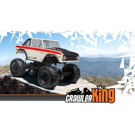 Coche HPI EP 1/10 Crawler King RTR carr. 1973 Ford Bronco