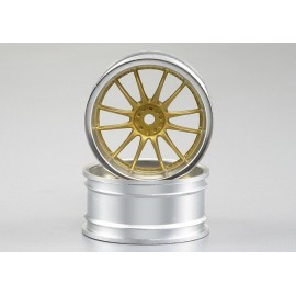 Injection Rim (4 pcs.) silver - gold, spokes