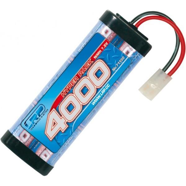 Batería 7,2V-4000mAh NiMh Hyperpack conector Tamiya