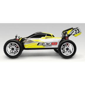 COCHE EB-4 G-3 E-BUGGY AMARILLO - 1/8 T.T. BRUSHLESS RTR