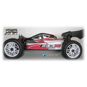 COCHE EB-4 G-3 E-BUGGY ROJO - 1/8 T.T. BRUSHLESS RTR