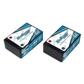 IMPACT FD2 Li-Po Battery 6000mAh/7.4V 90C Saddle Hard Case