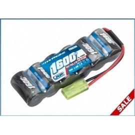Bateria 7,2V-1600mAh NiMH 2/3A XTEC RacePack - Micro - stick