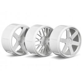 WHEEL SET (WHITE/MICRO RS4)