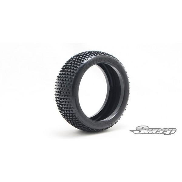 BATTLE STAR V2.0 Silver (Ultra Soft) 1:8 buggy tires(NO FOAM) 4pcs