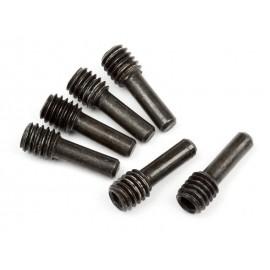 Ejes suspension M4x2,5x12mm (6pzs)