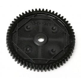 Spur Gear, 58Tooth 32P Associated SC10 4x4