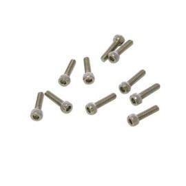 Tornillo M2,5x8mm Cilíndrico (10u.)