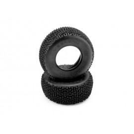 HB MEGAGRID SC Tire (Pink/Short Course Track/2pcs)