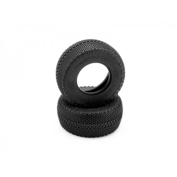 HB MEGABITE SC Tire (Pink/Short Course Track/2pcs)