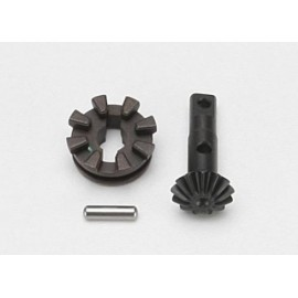 Gear, locking differential output/ differential slider/ 3x12 SUMMIT