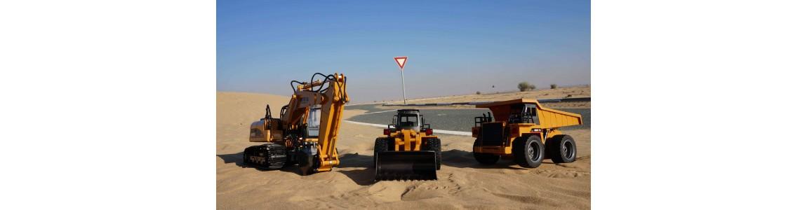 Excavadoras y  maquinaria de construccion R/C