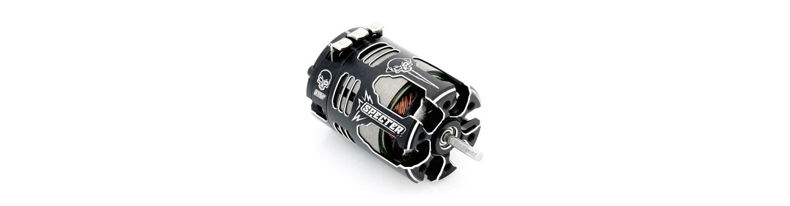 Motores electricos brushless y brushed RC