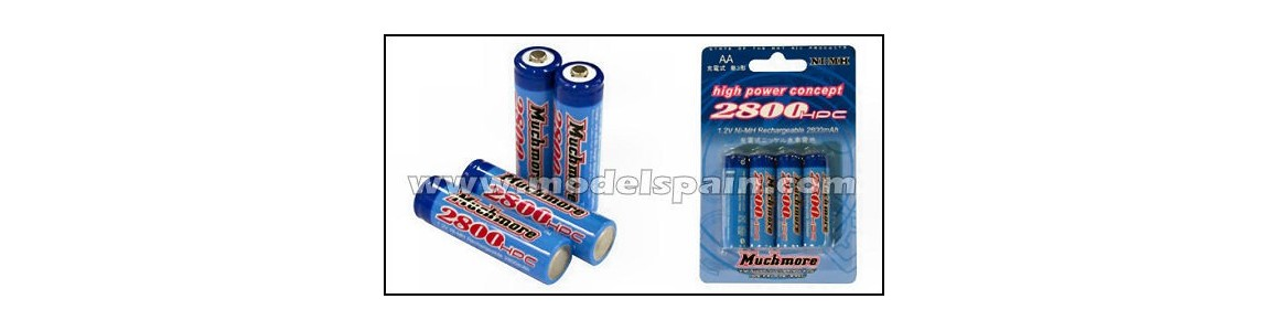 Baterias NiMh, Plomo, etc