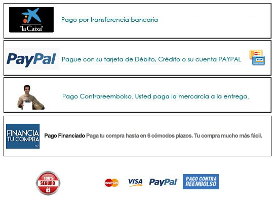 formas de pago new