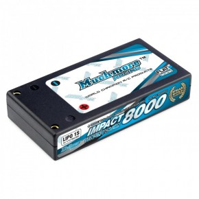 IMPACT Li-Po Battery 6400mAh/3.7V 70C Hard Case (1/12 Racing)