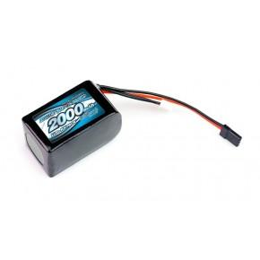 IMPACT Li-Po Battery 2000mAh/7.4V 4C Hmp Size for Receiver