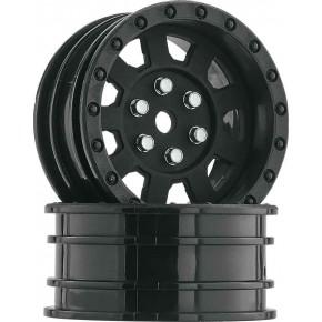 """1.9"""" 9-Spoke Wheel Black..."""