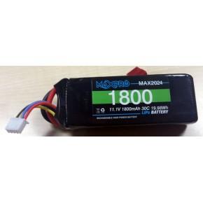 MAXPRO LiPo 30C 11,1V 1800mAh.