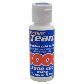 Silicone Diff Fluid, 3,000cSt