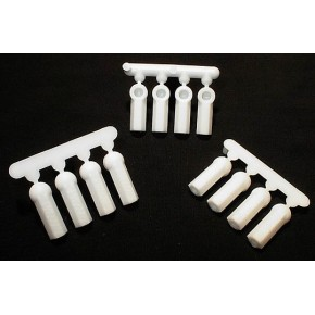 HEAVY DUTY ROD ENDS (12) WHITE